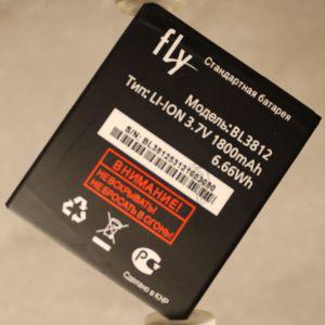 Аккумулятор для Fly IQ4416 (BL3812) 1800mAh