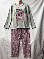 Женская пижама (тонкая байка) оптом со склада в Одессе.