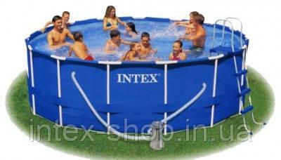 Внимание! Каркасный сборно-разборный бассейн Intex 56946 (457х122 см. ) полный комплект… Гарантия!, фото 2
