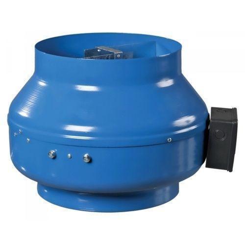 Круглый канальный вентилятор Вентс ВКМ 125 Б (бурый короб)