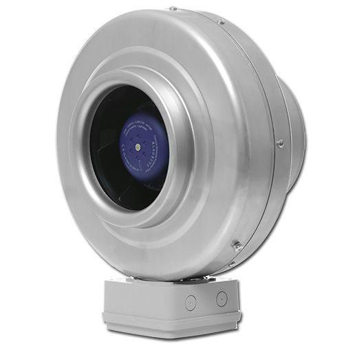 Круглый канальный вентилятор Вентс ВКМц 160 серый