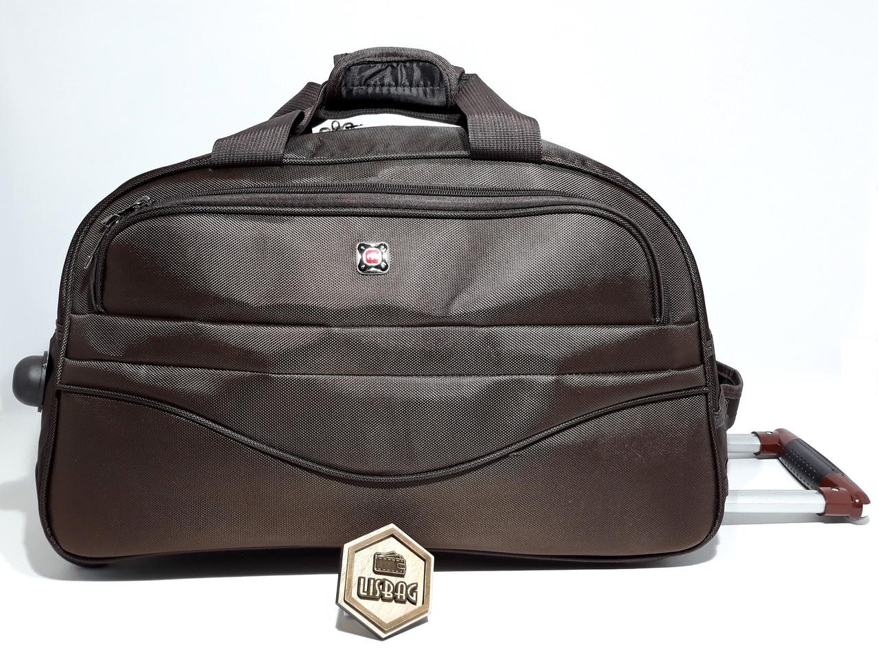 928b287f2a93 ... Большая Коричневая сумка на колесах XL (85 л) Черная (68*34* ...