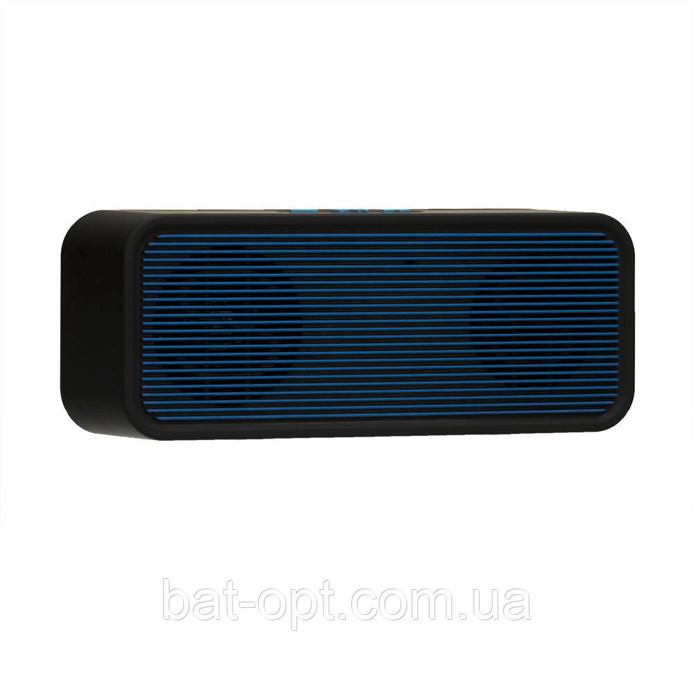 Радиоприемник колонка H-810 синяя