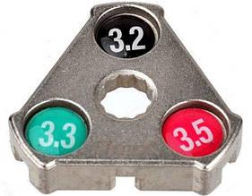 Ключ для спиц ProX YC-1A 3,2 / 3,3 / 3,5 мм (A-N-0120)