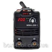 Сварочный инвертор DWT MMA-200 I, фото 3