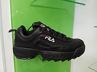 Женские кроссовки Fila Disruptor 2 Low Black