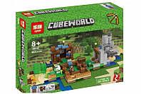 """Конструктор Minecraft Lepin 18030 """"Хижина на острове"""" (аналог Lego Майнкрафт, Minecraft), 664 детали, фото 1"""