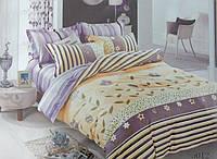 Сатиновое постельное белье полуторка ELWAY 5012