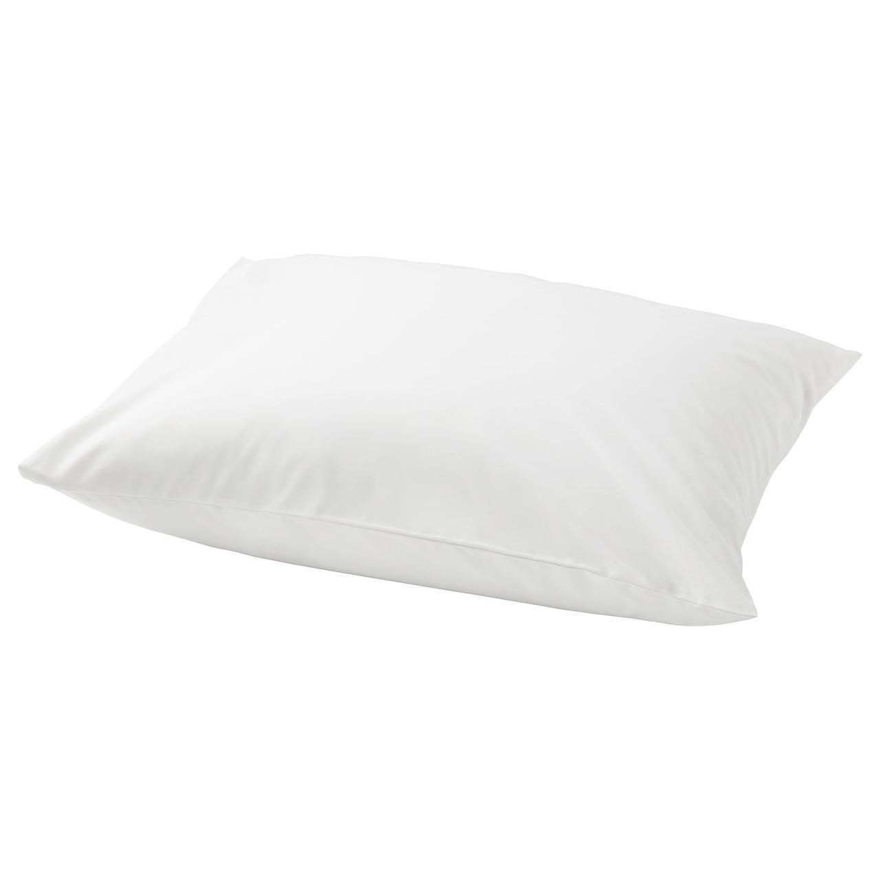 Наволочка на подушку IKEA ULLVIDE 50x60 см белая 003.427.44