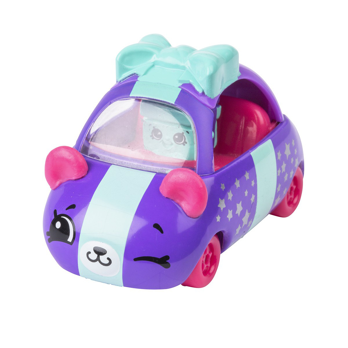 Мини-машинка SHOPKINS CUTIE CARS S3 - ПОДАРОК-ДРИФТ (с мини-шопкинсом)