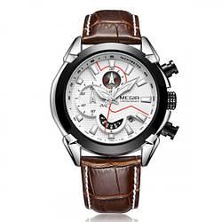Мужские часы Megir Royal White