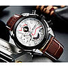 Мужские часы Megir Royal White, фото 2