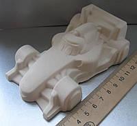 Гипсовая фигурка для раскрашивания статуэтка. Гіпсова фігурка для розмальовування. Машинка гонщик №1