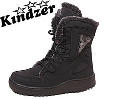 Ботинки женские болоновые зимние К-3