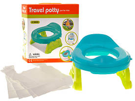 Дорожный горшок 2в1 и накладка на унитаз Baby Potty