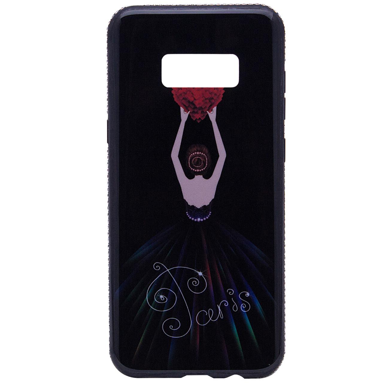 Чехол  для Samsung  Galaxy S8 Plus Magic Girl со стразами
