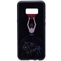 Чехол  для Samsung  Galaxy S8 Plus Magic Girl со стразами, фото 1