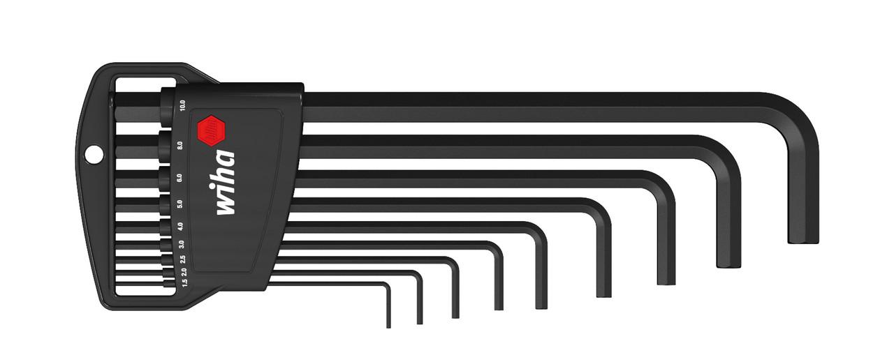 Набір Г-подібних шестигранників 1,5-10 мм 9 пред.