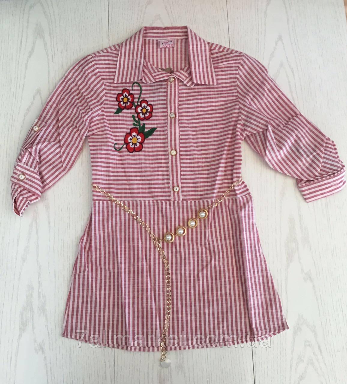 8994e674f5f Блузка нарядная с воротником на девочку 10-13 лет (4 цвета) Серии ...
