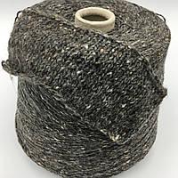 Итальянская пряжа TWEEDECO 450 (темно серый) Меринос 70%, микрофибра 30%. 450 м./100 гр.