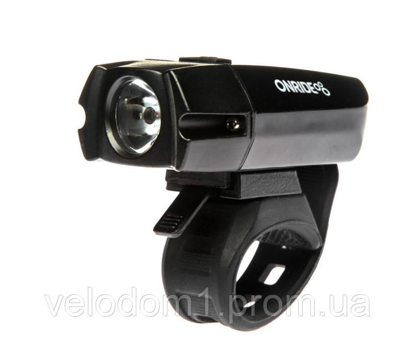 Фара передняя Onride Eye LED, 3 ф-ции 400 Lum, USB