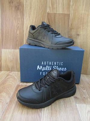 Мужские Кроссовки в стиле Under Armour Dash2 черные кожаные