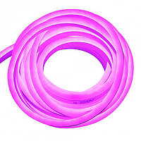 Светодиодный неон Biom 220v розовый IP65