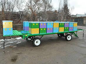 Прицеп для перевозки ульев. Прицеп для пчеловодов.