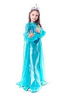 """Детский карнавальный костюм """"ЭЛЬЗА. ХОЛОДНОЕ СЕРДЦЕ"""" для девочки на 8-11 лет"""