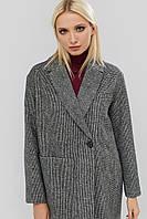 """Пальто """"MOKKA"""" серый осень"""