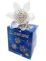 Светильник-ночник LED Цветок с кнопкой RGB VARGO