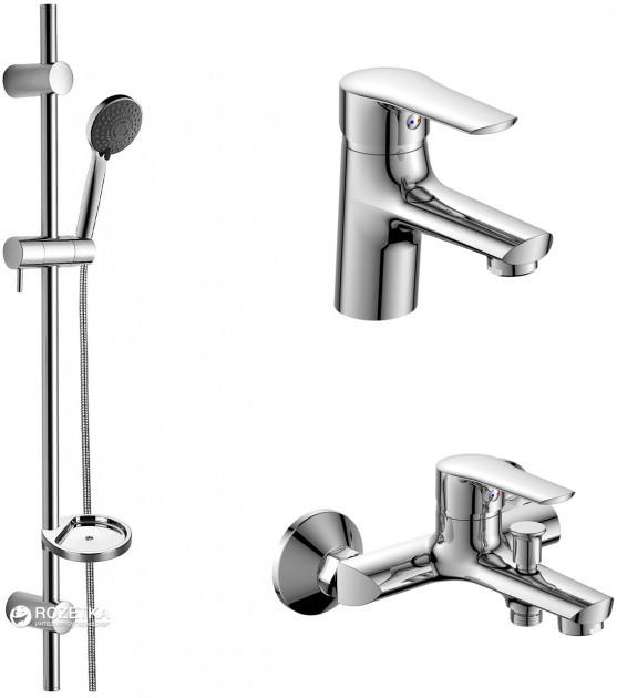 Набор смесителей IMPRESE Kit для ванни (21081), фото 1