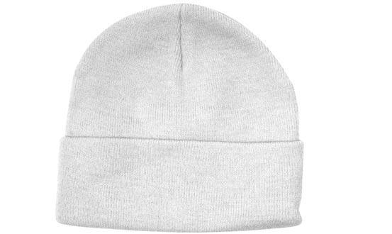 Шапка зимняя мужская/женская белая Headwear proffesional - WH4243