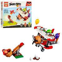 """Конструктор Lepin Angry Birds """"Самолетная атака свинок"""" 185 деталей, фото 1"""