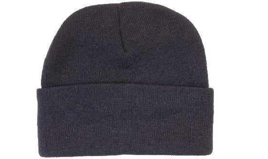 Шапка зимняя мужская/женская темно синяя Headwear proffesional - 00636