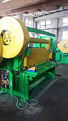 Н3121 Ножницы гильотинные листовые кривошипные механические    гильотина по металлу с механическим приводом