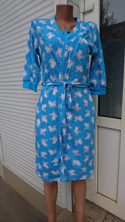 bea5ef906eda Комплект халат и сорочка для кормящих мам Кошка 44-54 р., цена 290 ...