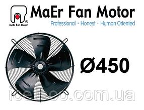 Вентилятор осевой 4E-450-S (YDWF74L60P4-522N-450) MaEr Fan Motor