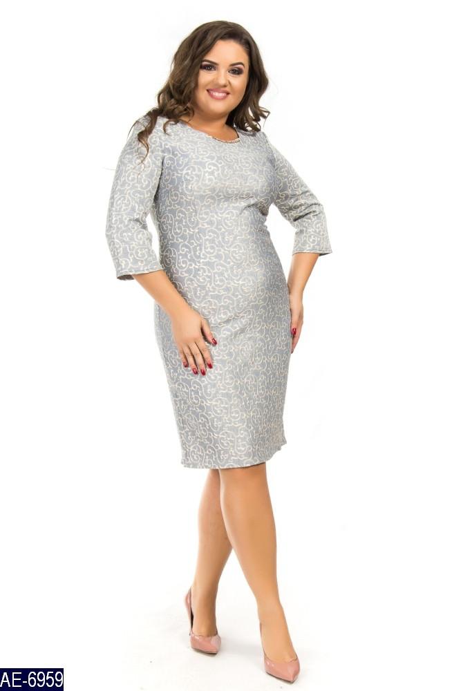 Красивые платья для стильных модниц большого размера 50-60