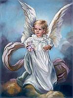 Набор для алмазной мозаики Ангел небесный 50 х 40 см (арт. FS788), фото 1