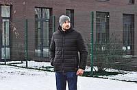 Мужская зимняя куртка Baterson Snow Limit черная, фото 1