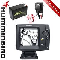 Эхолот для рыбной ловли Humminbird Fishfinder 561 + аккумулятор + зарядка