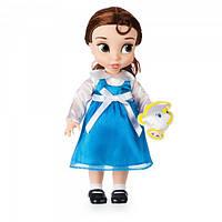 Кукла малышка принцесса Бель с чашечкой Чипом - Disney Animators' Collection Belle Doll - 16''