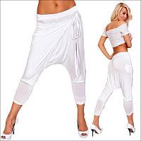 Женские белые капри, женская одежда