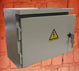 Щит освітлення ШМР-А-Н-12 герметичний металевий бокс на 12 модулів навісний, фото 2
