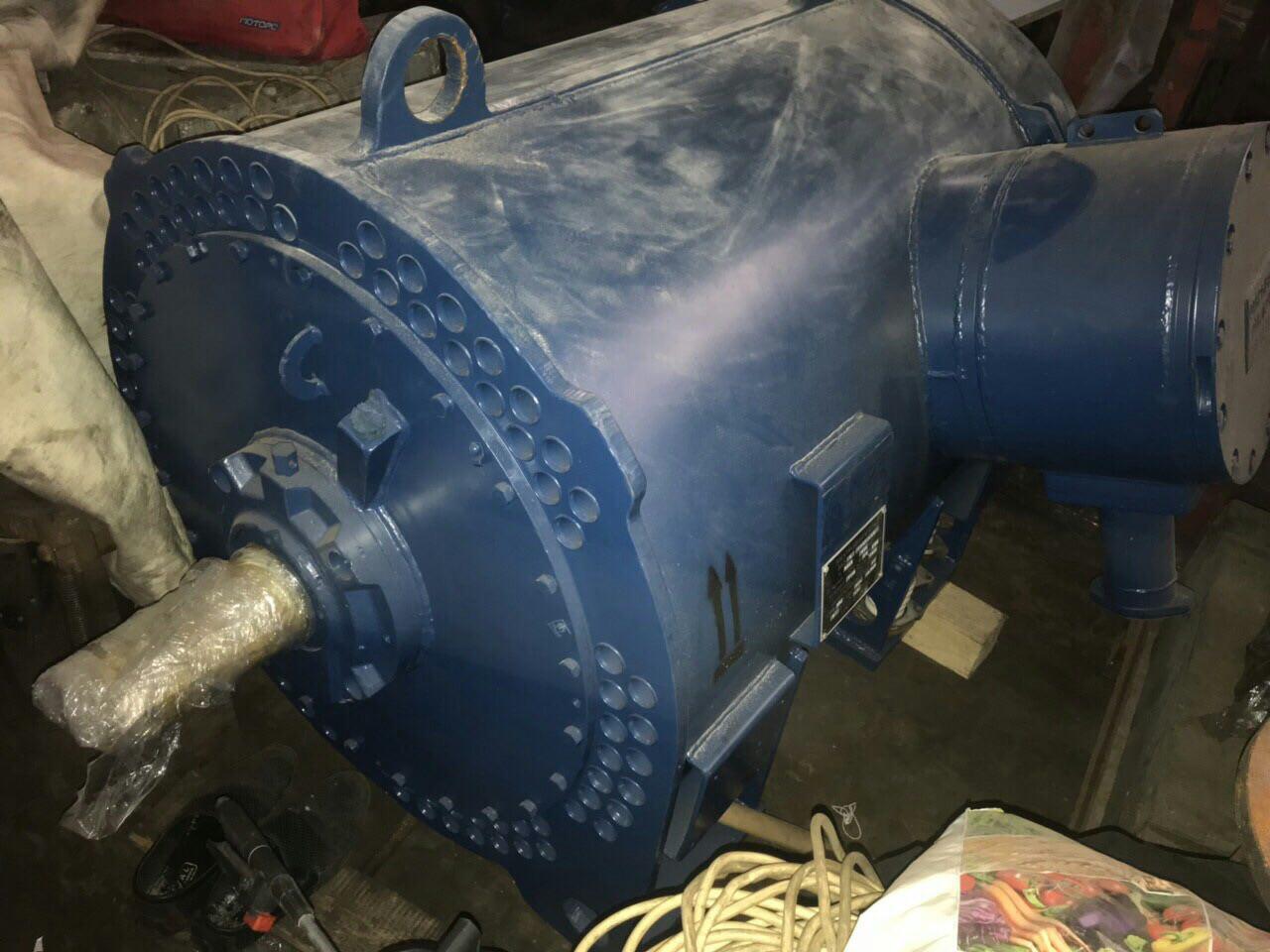 Електродвигун ВАО2-560S6 (ВАО2 560S6 400 кВт 1000 об/хв 6кВ)