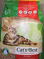 Cat's Best ÖKO PLUS ― наполнитель для кошачьего туалета 10 л (4,3 кг)