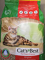 Cat's Best ÖKO PLUS ― наполнитель для кошачьего туалета 10 л