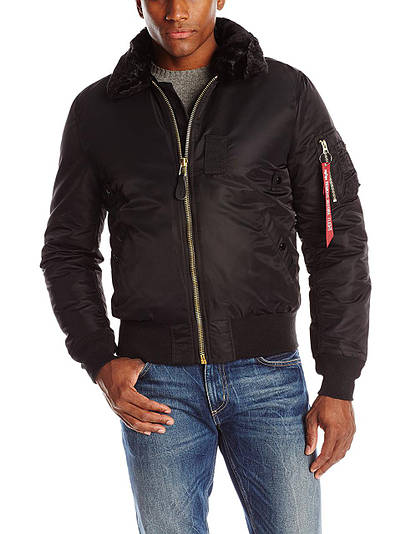 Куртка Alpha Industries B-15 Slim Fit Black