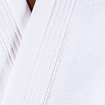 Кімоно дзюдо, біле, 8oz, 160 J08-160-3, фото 3